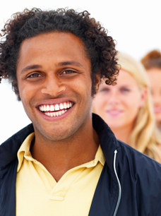 Image of smiling african-american man - Qualified Domestic Trust